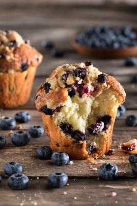 Muffins de Arándanos abierto_0410